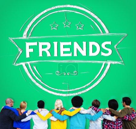 Friends Friendship Relationship Concept