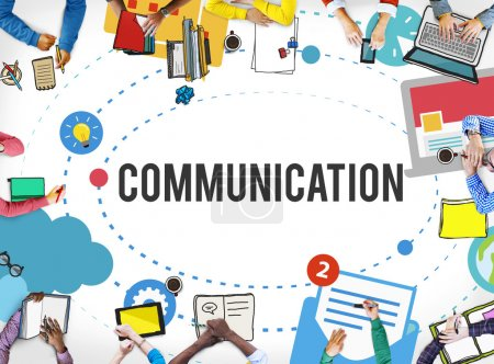 Communication, Chatting Concept