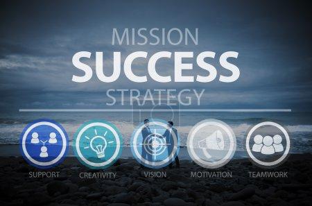 Success Achievement Goal Concept