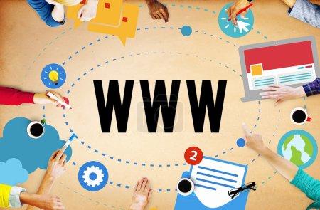 Online Connection Concept