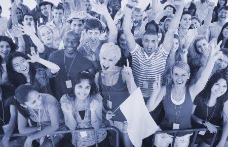 happy Diversity People