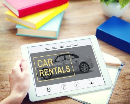 Car Rental, Transportation Concept