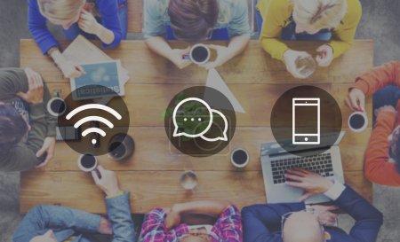 Wireless Technology Online Messaging