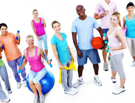 People Exercise Activity Concept