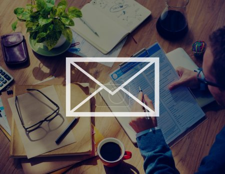 Email, Online Internet Concept