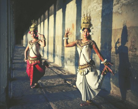 Aspara Dancers at Angkor Wat