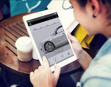 Car Automoblie Transportation Concept