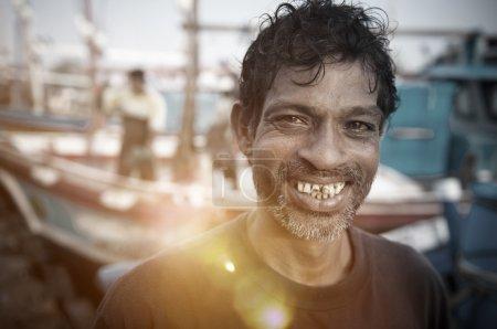 Sri Lankan fisherman