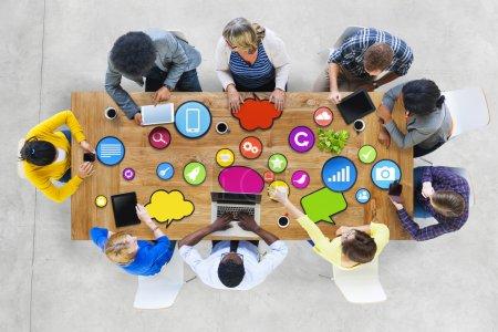Diversity People, Brainstorming concept