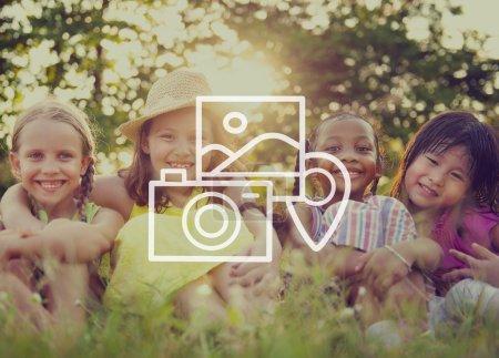 Camera Album Pictures Place Location Concept