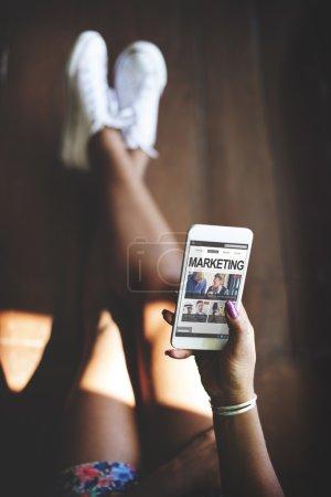 Smart Phone Using Marketing