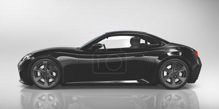 modern car illustration