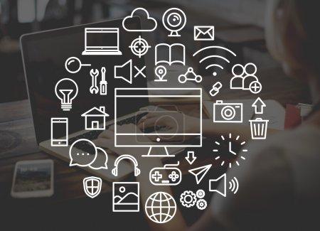Multimedia Technology Electronic Menu Concept