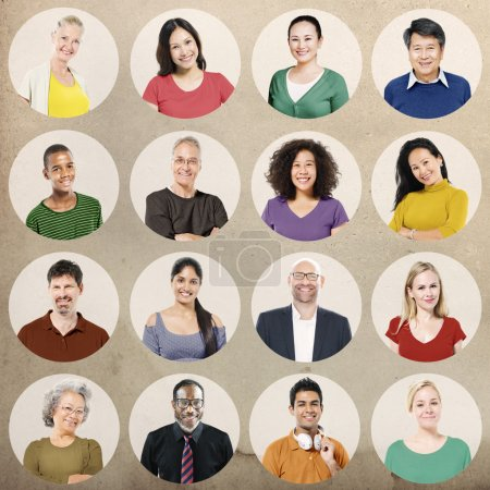 Group of Multi ethnic People Concept