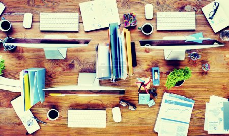 Contemporary Office Desk Concept
