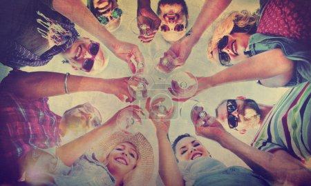 Celebration Friendship Summer Fun Concept