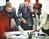 Podnikatelé s firemní diskuse