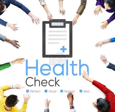 Health Check, Medical Diagnosis Concept