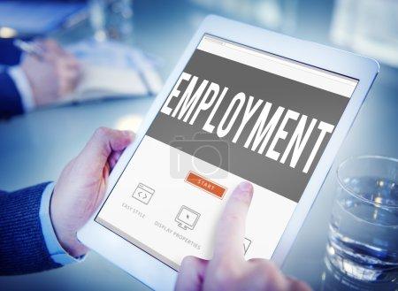 Employment, Job Hiring Concept