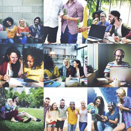 Community, Digital Devices Concept
