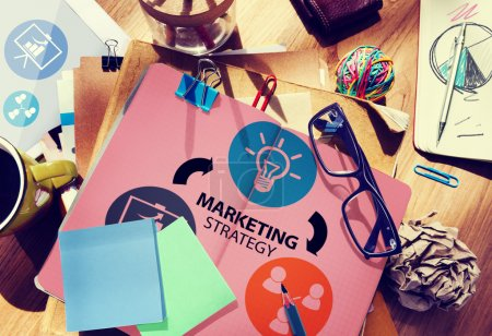 Marketing Strategy, Commercial Advertisement Concept