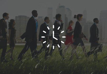 Clock Time, Orgarnization Concept