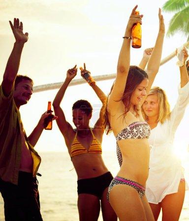 Beach Summer Party Concept