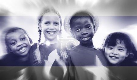 Kids Diversity Friendship