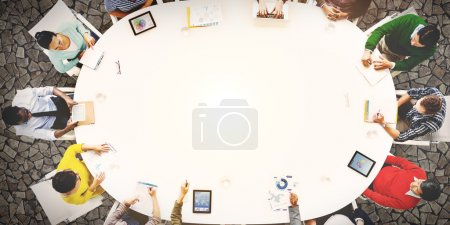 Group of People Business Meeting