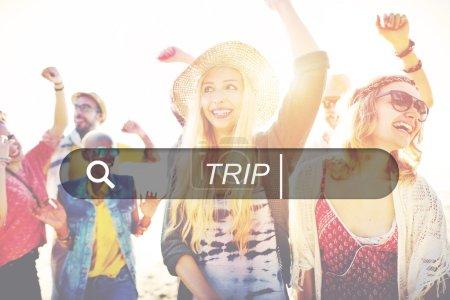 Trip Vacation Concept