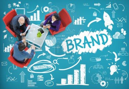 Brand, Technology Concept
