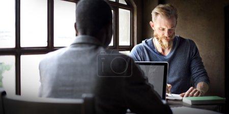 Businessmen Working Concept