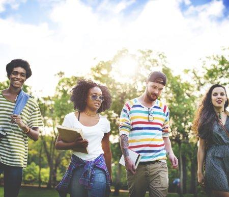 Diversity Teenagers Concept