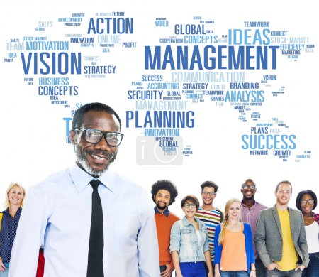 globales management konzept