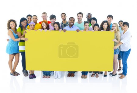 young Diversity People together
