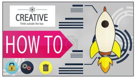Creative Innovation, Success Concept