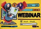 Webinar Online seminář koncept