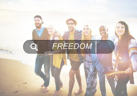 diversity friends and Freedom