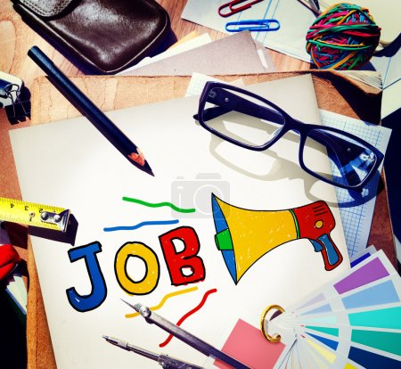 Photo for Job Career Occupation Recruitment Human Resource Concept - Royalty Free Image