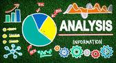 Analysis, Data Information Concept