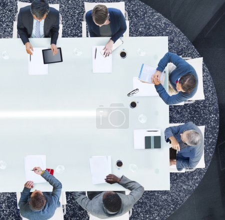 Business People Having a Meeting Concept