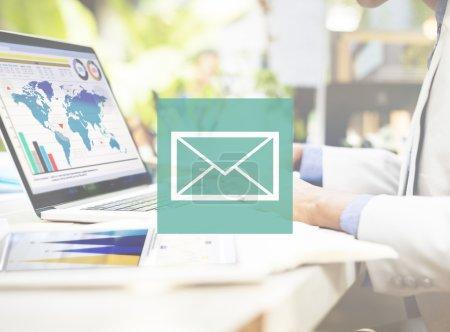 Messaging Online Concept