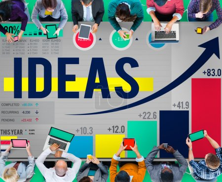 Business People and Idea Concept