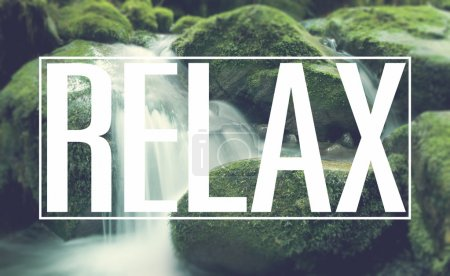 Relax Rest Relaxation Concept