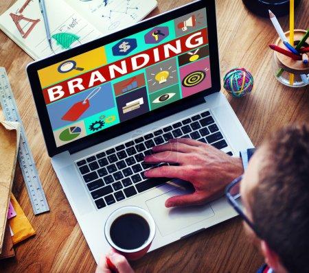 Brand Marketing Concept