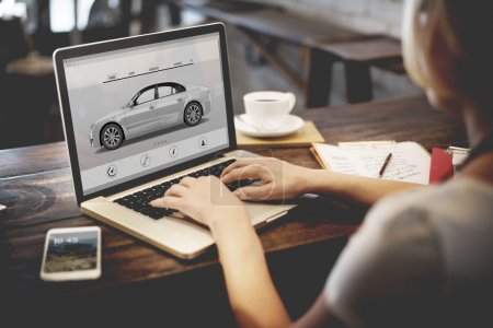 Car Automobile, Transportation Concept