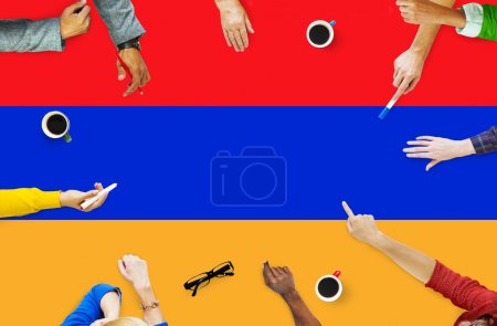 Business Team Brainstorming Concept