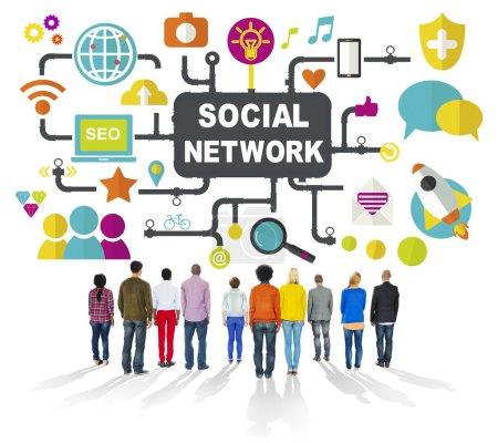 social media anschlusskonzept