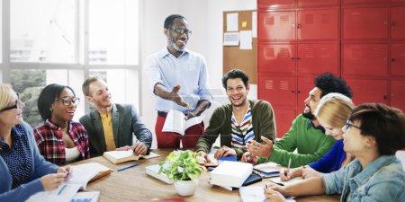 People brainstorming together