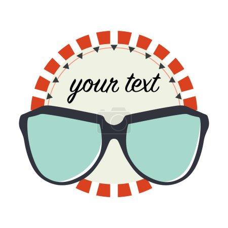 Sunglasses shop logo design
